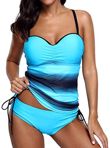Socluer Bikini Tankini Mujer Bikini Push up Playa