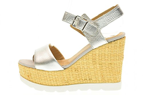 IGI&CO scarpe donna sandali con zeppa 78694/00 Argento