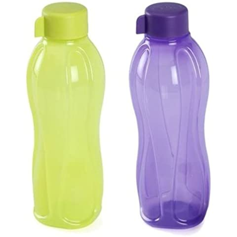 Tupperware Aquasafe Bottiglie Set di 2 (1 Ltr.