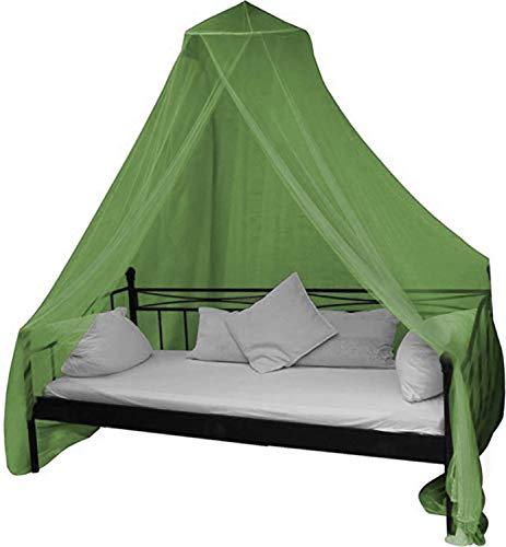 normani Mobiles Moskitonetz - Insektenschutz für In- und Outdoor - für Einzel- und Doppelbetten Farbe Olive Doppel-mobile