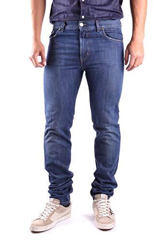 Marc Jacobs Herren Mcbi16994 Blau Baumwolle Jeans