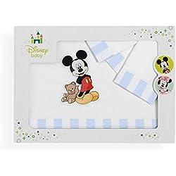 Sabanalia - Juego de sábanas Mickey (Disponible en varias medidas) - Maxicuna (70x140)