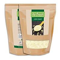 Refresh Organic Corn Flour (500 GM) / Makki Flour