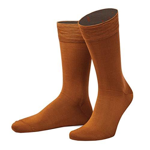 Arizona Socke (von Jungfeld - Herren Businesssocken/Strumpf Herrensocken Business Socken Merzerisierte fil d'ecosse Baumwolle 1 Paar 42-44 Arizona Graphit)