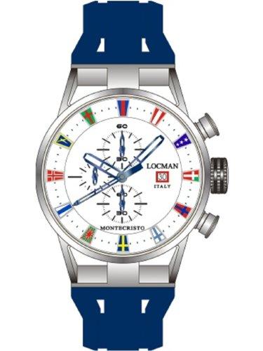 Locman - Men's Watch 51000WHFLAGGOB