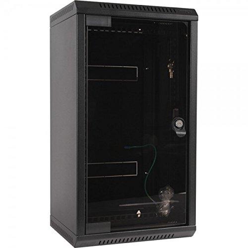 Triton RKA-10-AS4-BAX-X1 25,4-48,26 cm (10-19 Zoll) Wandverteiler RKA schwarz Schwarz Media Regal