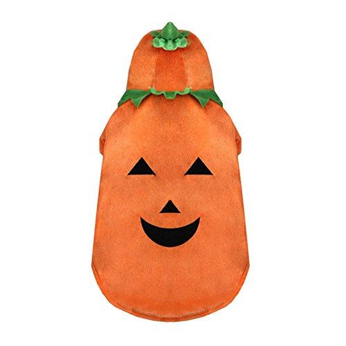 Takefuns Halloween Hund Kleider Ghost Festival Kleid bis -
