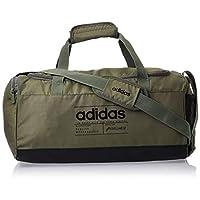 adidas Unisex Brilliant Basics Duffel Bag, Legacy Green/Black/Black