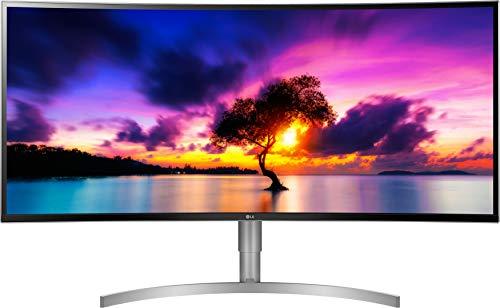 LG 38WK95C-W 95,25 cm (38 Zoll) Curved 21:9 UltraWideTM IPS Monitor (QHD+, HDR10, USB-Type C, AMD Radeon FreeSync), weiß (Lg Led-abdeckung)