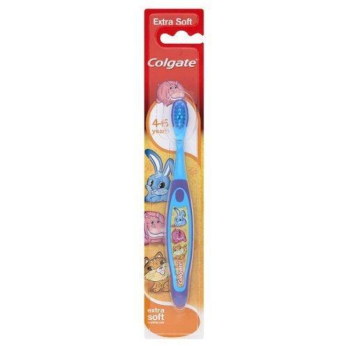 Colgate Smiles Kinder Zahnbürste 4-6Jahren (4Stück) farblich sortiert -