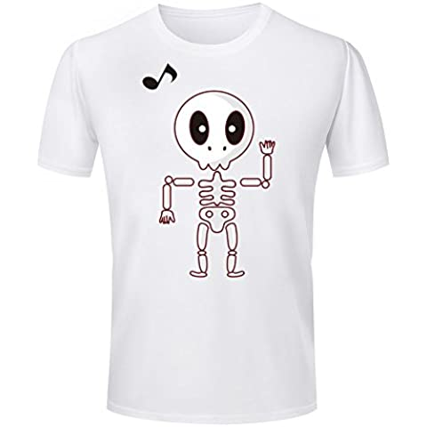Halloween Series Cute Devils Printed Mens Soft Cotton T Shirts