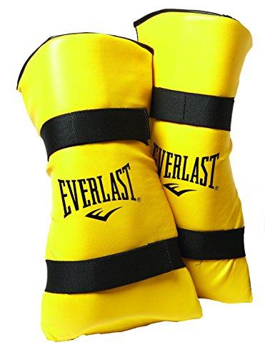 Everlast Erwachsene Schienbeinschützer Shin and Instep Guard, Yellow, L, 7250