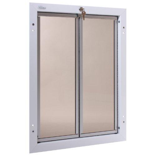 Preisvergleich Produktbild Plexidor Performance Pet Türen X-Large Weiß Tür Montage