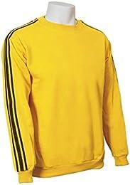 sudadera amarilla adidas hombre