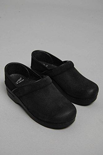 dansko zoccolo Professional Burnished Suede Black Taglia 38 - Colore Nero (Dansko Damen Schuhe)