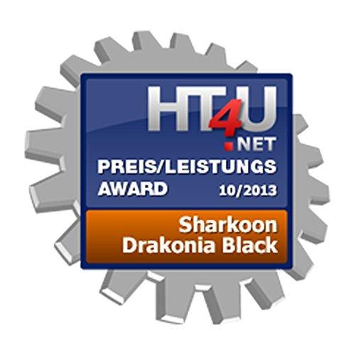 Sharkoon Drakonia Black Gaming Laser Maus 8200 dpi (11 Tasten) schwarz - 11