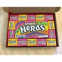 Wonka Nerds Gift Box - Birthday Party American Retro Candy Sweets N14