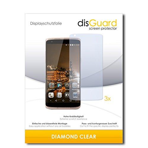 3 x disGuard® Schutzfolie ZTE Axon Mini Premium Edition Displayschutz Folie