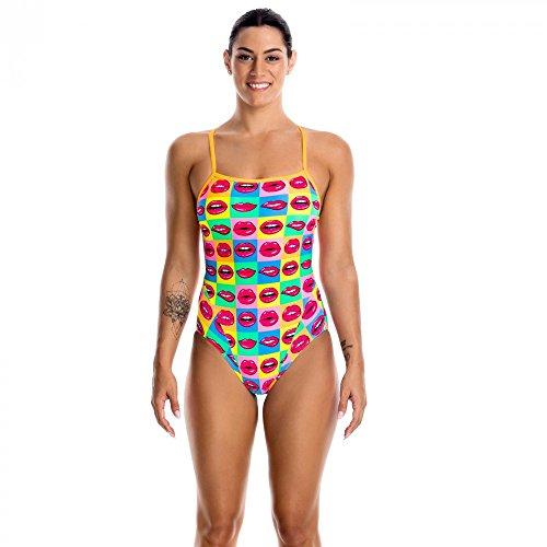 Hot One Piece Swimsuit (Funkita One Piece Swimsuit Women Hot Lips Größe DE 36 | US 32 2017 Schwimmanzug)