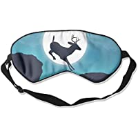 Deer Jump Moon Sky Sleep Eyes Masks - Comfortable Sleeping Mask Eye Cover For Travelling Night Noon Nap Mediation... preisvergleich bei billige-tabletten.eu