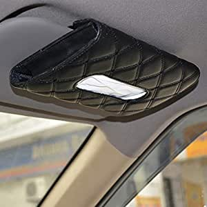 Autofurnish 7D Car Sun Visor Tissue Holder Box with Free Tissues(Beige)