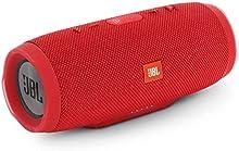 JBL Charge 3 Cassa Acustica Portatile Waterproof con Bluetooth, Rosso