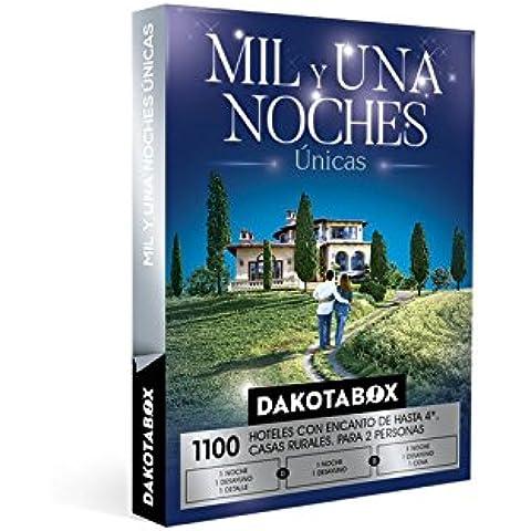 DAKOTABOX - Caja Regalo - MIL Y UNA NOCHES ÚNICAS - 1100 Hoteles de hasta 4*, casas rurales con encanto, masías,