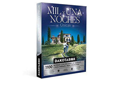 DAKOTABOX – Caja Regalo – MIL Y UNA NOCHES ÚNICAS – 1100 Hoteles de hasta 4*, casas rurales con encanto, masías, posadas…