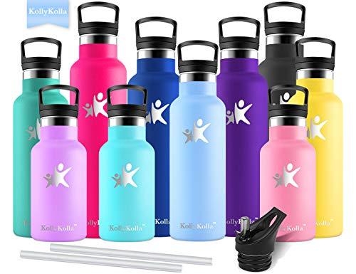 KollyKolla Vakuum-Isolierte Edelstahl Trinkflasche, 750ml BPA-frei Wasserflasche
