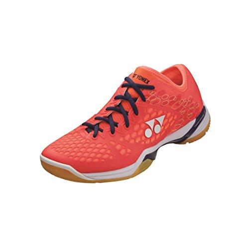 Yonex Nuovo Power Cushion 03Mk Calzature da Tennis Badminton Sport, Rosso, 46