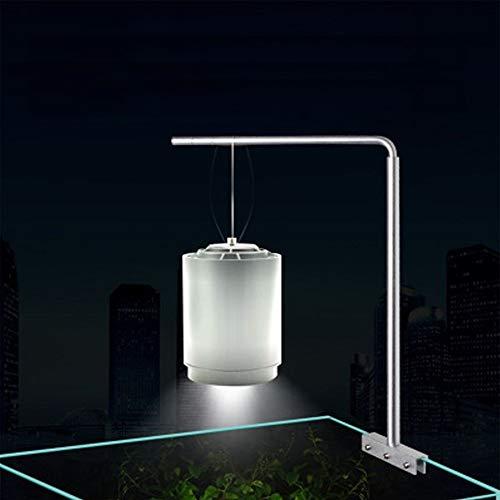 ERCZYO Supporto Universale per Sospensione da Acquario in Alluminio per Lampada per Acquario
