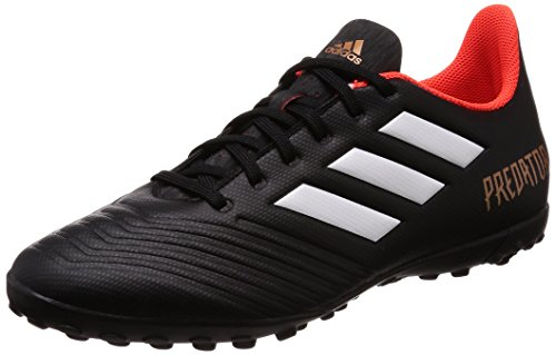 18.4 (adidas Herren Predator Tango 18.4 TF Fußballschuhe, Schwarz (Core Black/Ftwr White/Solar Red), 43 1/3 EU)