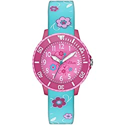 s.Oliver Girls Quartz Watch with Silicone SO - 2992-PQ