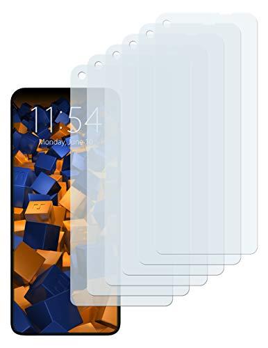 mumbi Schutzfolie kompatibel mit Motorola One Vision Folie klar, Bildschirmschutzfolie (6X)