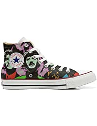 Converse Customized - zapatos personalizados (Producto Artesano) Beatles