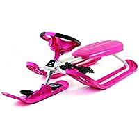 Stiga Snowracer Color Pro - Trineo, Color Naranja Rosa Rosa
