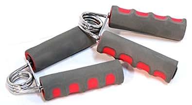 Poignée de main ressort exercice gym sport rééducation 2 poignées Hand Gripsref1