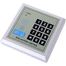 Gomark - Sistema electrónico de control de acceso (RFID, incluye consola de control y 10 llaveros  electrónicos)