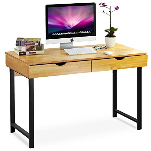 tribesigns-modern-stylish-computer-desk-home-office-study-writing-table-workstation-with-2-drawers-p