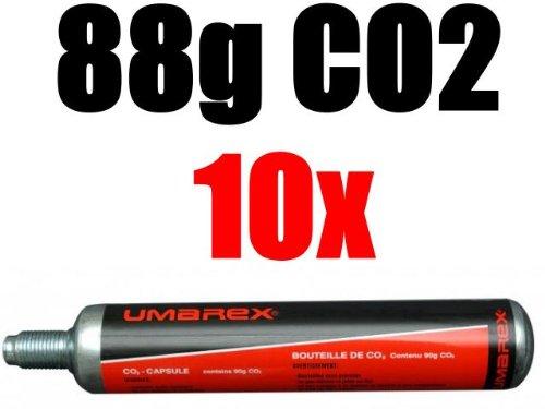 10 Co2 Kapseln 88g von Umarex für Gotcha ,Softair, Paintball, Co2 Gewehr