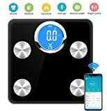 Precision Bluetooth Body Fat Scale, Analysis of 17 Kinds of Body Data, Weight