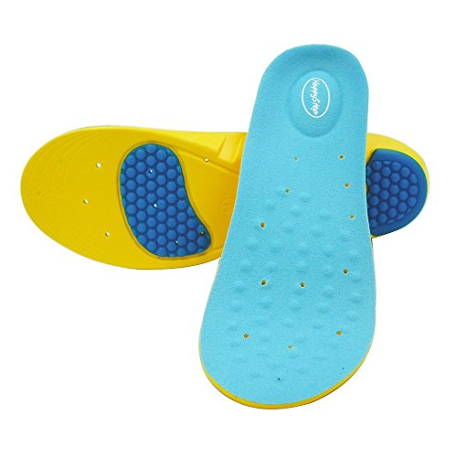 4002394be5 New HappyStep Gel Insoles Provides Outstanding Shock Absorption and  Cushioning for Ball of Foot and Heel