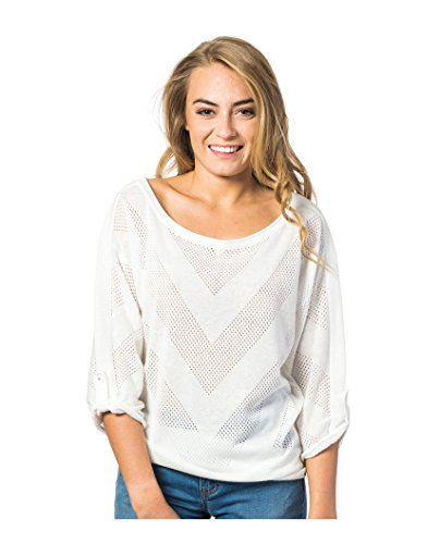 RIP CURL Damen Corona Pullover, Cloud Dancer, XS