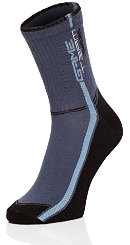 Ladeheid Uomo Calze Sportive 167V5 Nero/Jeans