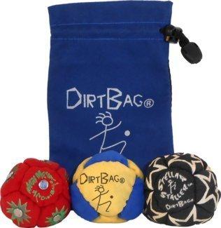 Dirtbag All Star 3Pack mit Tasche, Blue/Blue Pouch/Blue/White
