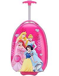 ed2197111 Gucili Maleta para Niños, Caricatura Disney Cuatro Princesa Equipaje para  Niños, Maletas De Viaje