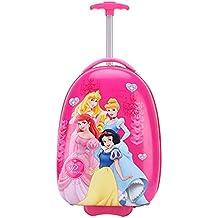 Gucili Maleta para Niños, Caricatura Disney Cuatro Princesa Equipaje para Niños, Maletas De Viaje