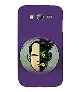 printtech Two Face Gotham Back Case Cover for Samsung Galaxy Grand Neo Plus::Samsung Galaxy Grand Neo Plus i9060i