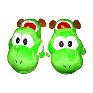 Pantoufles Yoshi Super Mario Bros