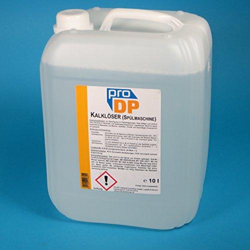 10l Kanister Pro DP Profi Entkalker Kalklöser Reiniger für Spülmaschinen